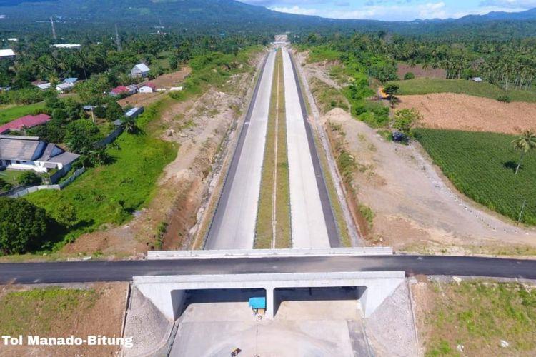 Jalan Tol Manado-Bitung snap beroperasi tahin 2020 ini.