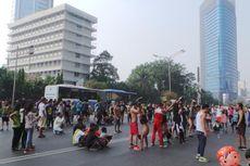 Pekan Ini, PKL CFD Mulai Berjualan di Tenda