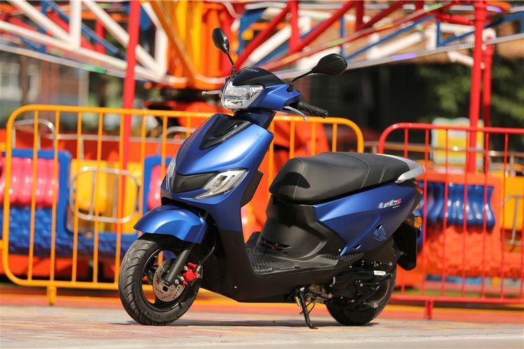 Suzuki Lets generasi terbaru di China.