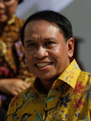 Menteri Pemuda dan Olahraga, Zainudin Amali sebelum pelantikan menteri-menteri Kabinet Indonesia Maju di Istana Negara, Jakarta, Rabu (23/10/2019). Presiden RI Joko Widodo mengumumkan dan melantik Menteri-menteri Kabinet Indonesia Maju serta pejabat setingkat menteri.