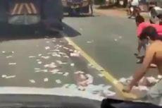 Banyak Perbedaan, Polisi Simpulkan Video Viral Uang Tercecer Bukan di Baturiti