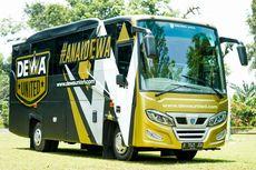 Melihat Bus Pemain dan Official Dewa United FC