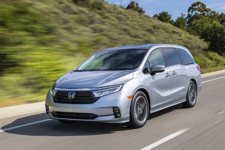 Honda Odyssey mendapatkan penyegaran di pasar Amerika Serikat.