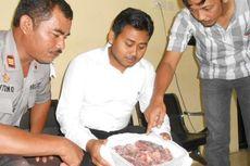 Polisi Sita 8 Kilogram Daging Celeng di Pasar Demak