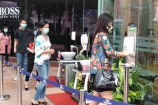 Masuk PIM, Pengunjung Harus Pakai Masker dan Cuci Tangan di Lobi