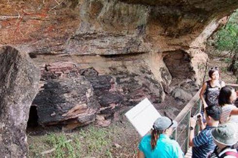 Aborigin Berkisah dan Berpesan Lewat Batu Cadas