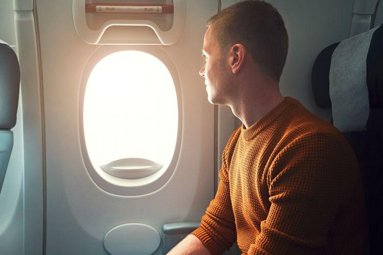Ilustrasi penumpang pesawat