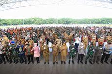 Upacara di Lapangan Karebosi, Pj Walkot Makassar Ingin Kasus Covid-19 Landai Akhir Juli