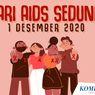 INFOGRAFIK: Hari AIDS Sedunia 1 Desember 2020