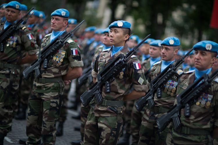 Ilustrasi tentara Perancis.