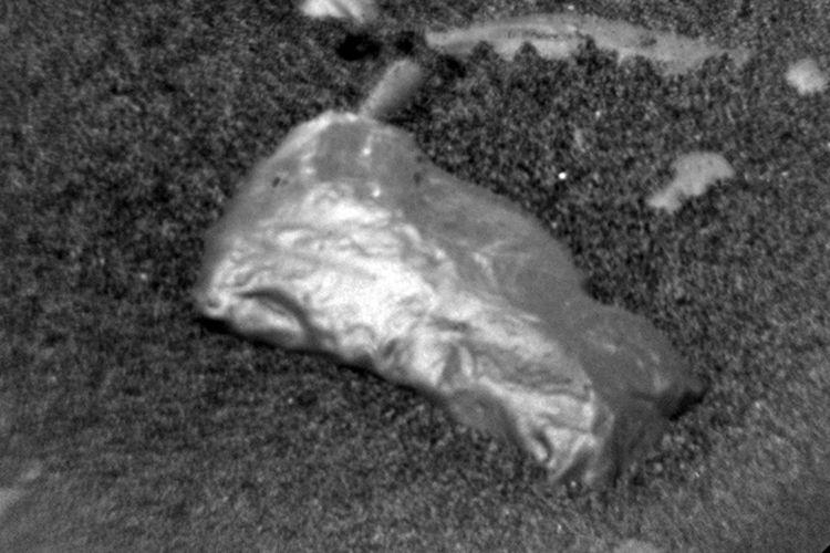 Benda berkilau yang ditemukan robot penjelajah Curiosity