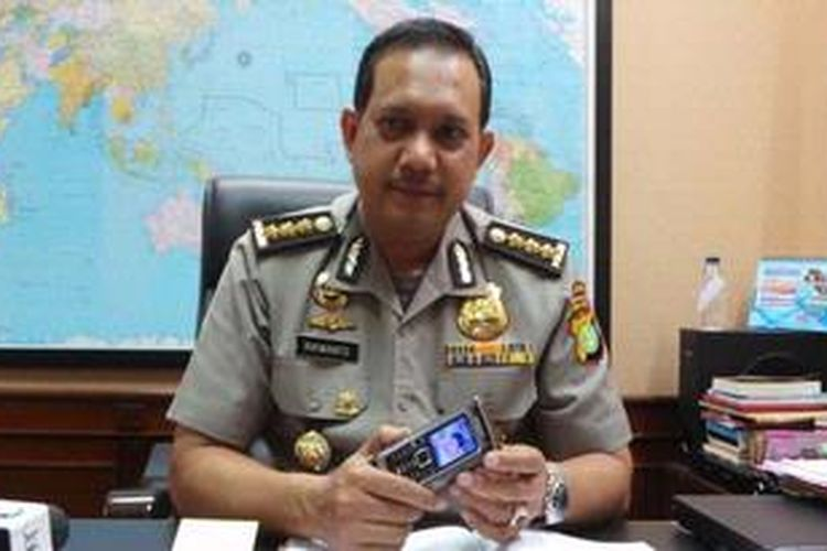 Kabid Humas Polda Metro Jaya Komisaris Besar Rikwanto