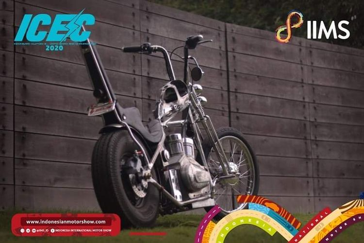 Motor listrik Selis E-Max bergaya chopper garapan GTX Motorsport