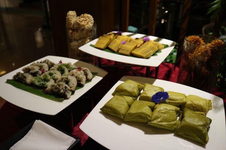Kue basah khas Indonesia, yang menjadi hidangan penutup hidangan Nusantara.