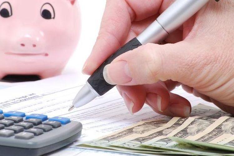 Ilustrasi mengelola keuangan