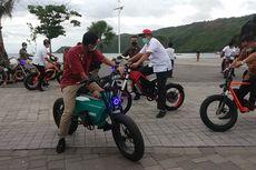 Gubernur NTB Promosikan Sepeda Listrik Buatan Lokal ke Menpar