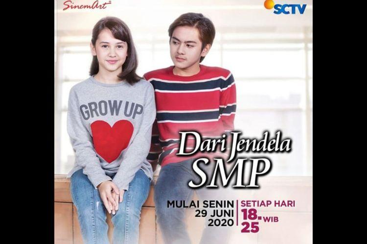 Poster Sinetron Dari Jendela SMP, dibintangi Sandrinna Michelle dan Rey Bong