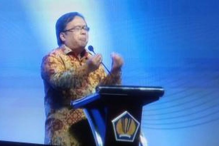 Mentri Keuangan RI Bambang Brodjonegoro
