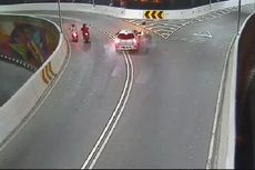 Pelaku Tabrak Lari di Overpass Manahan yang Terekam CCTV Belum Juga Tertangkap