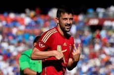 Cedera dan Dicoret dari Timnas Spanyol, David Villa Kecewa