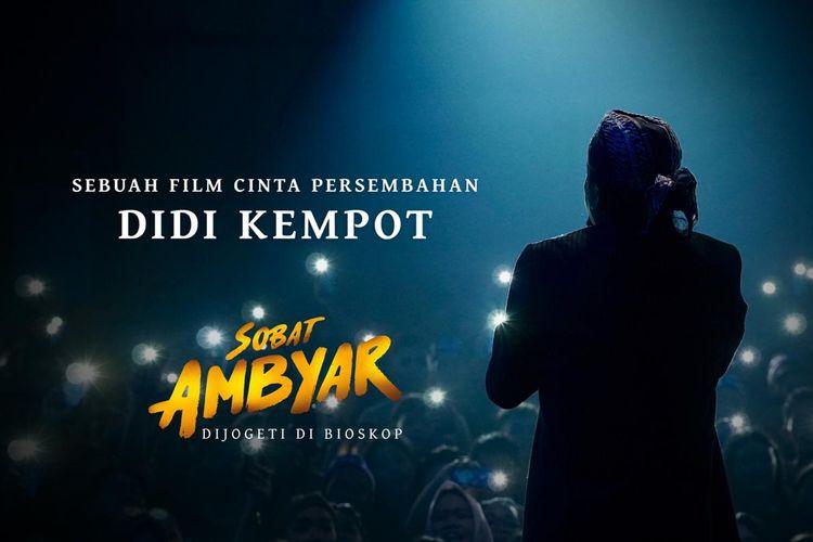 Poster film Sobat Ambyar yang menampilkan tampak belakang mendiang Didi Kempot.