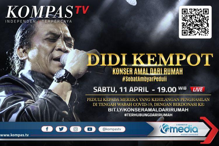 Bersama Didi Kempot Kompastv Gelar Konser Amal Untuk Warga