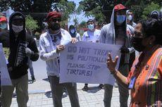 Pengungsi Asal Afghanistan Unjuk Rasa di Kantor Kemenkumham NTT, Ini Tuntutannya