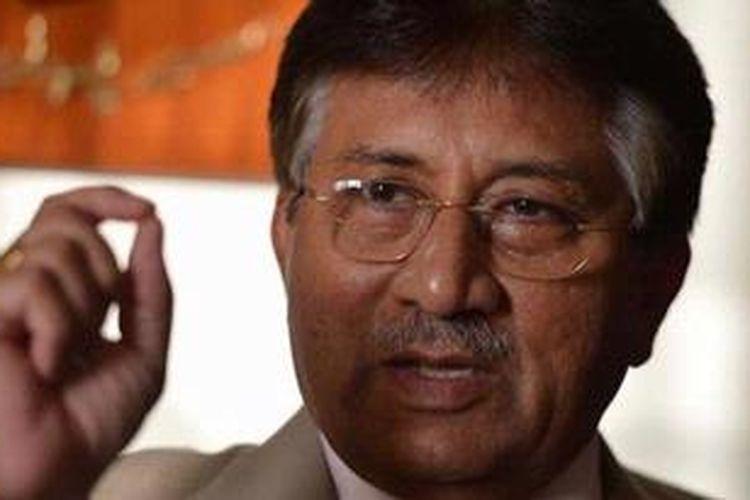 Mantan presiden Pakistan, Pervez Musharraf.