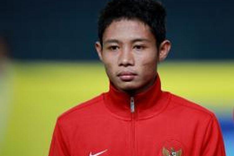 Kapten timnas U-19 Indonesia, Evan Dimas Darmono.