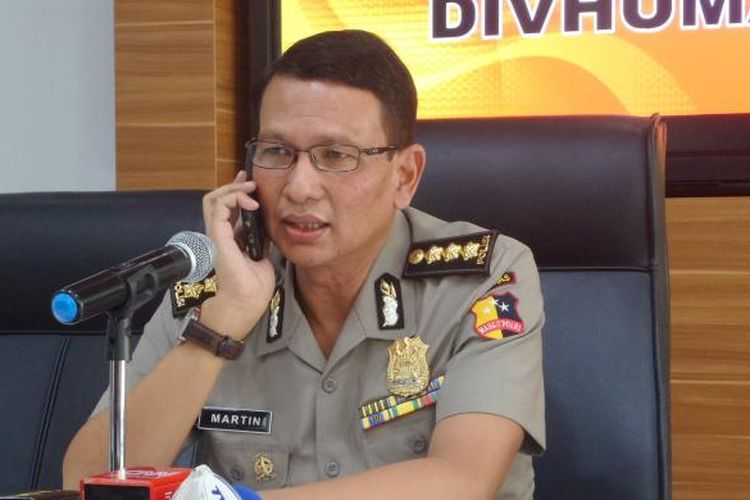 Kepala Bagian Penerangan Umum Divisi Humas Polri Kombes Pol Martinus Sitompul