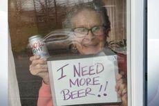Di Tengah Lockdown Virus Corona, Nenek 93 Tahun Ini Minta Bir