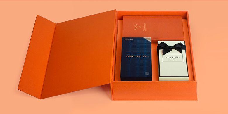 Bundling OPPO Find X2 Series dan parfum Jo Malone.