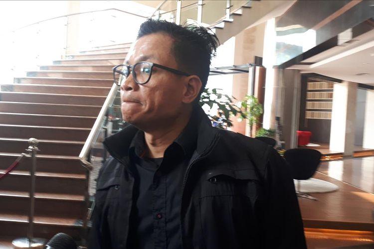 Direktur Eksekutif Amnesty International Indonesia Usman Hamiddi Polda Metro Jaya, Selasa (9/7/2019).