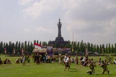 Tarian Kolosal Puputan Margarana di Hari Juang Kartika TNI AD