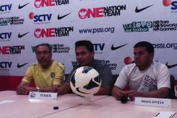 Timnas Yaman penasaran dengan timnas U19