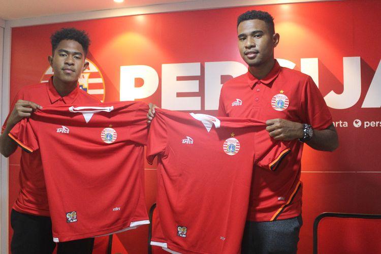 Persija Jakarta mendapatkan pemain muda asal Papua Braif dan Brian Fatari.