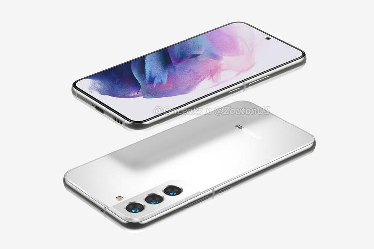 Bocoran wujud ponsel Galaxy S22