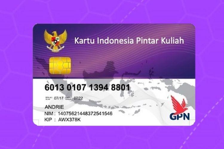 Tangkapan layar website KIP Kuliah Kemendikbud.