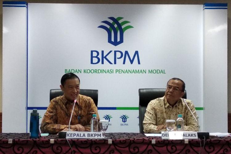 Kepala BKPM Thomas Lembong dalam jumpa pers di kantornya, Selasa (14/8/2018) menyebutkan bahwa penurunan investasi pada kuartal II 2018 sejalan dengan data BPS dan BI.