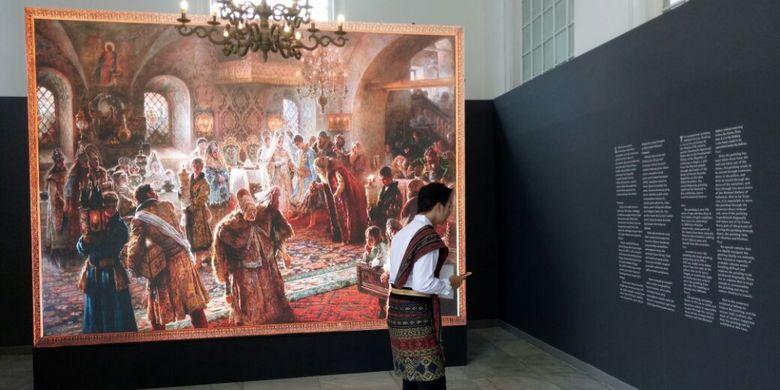 Mengangkat tema Senandung Ibu Pertiwi, pameran lukisan koleksi Istana Negara kembali digelar pada 2 - 30 Agustus 2017 di Galeri Nasional Indonesia, Jakarta.