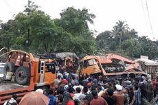 Tabrakan Maut di Sibolangit, 3 Orang Tewas, Jalur Medan-Berastagi Macet