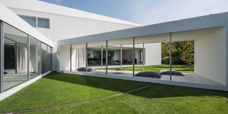 Tempat tinggal rancangan arsitek Robert Konieczny dapat bergerak hingga 90 derajat.