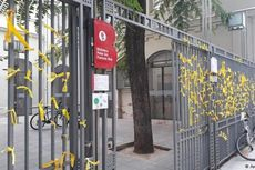 Jelang Pemilu Catalonia, Spanyol Larang Atribut Warna Kuning