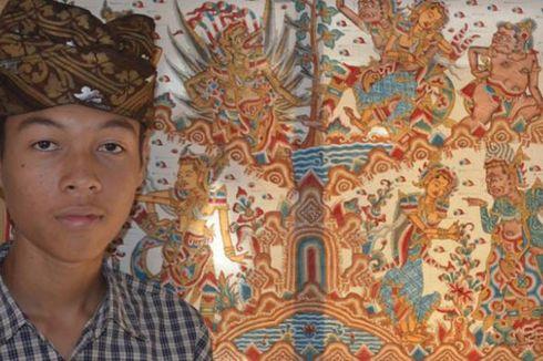 Turis China Tertarik Lukisan Gaya Kamasan