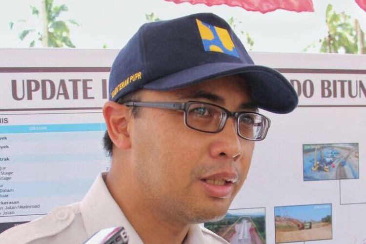 Kepala Biro Komunikasi Publik Kementerian PUPR Endra S Atmawidjaja