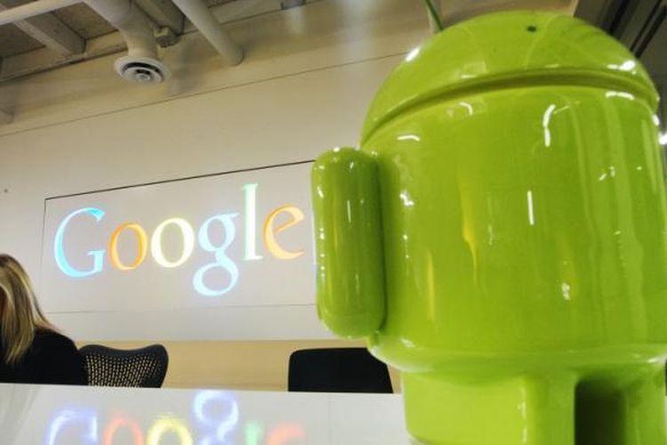 Ilustrasi sistem operasi Android buatan Google