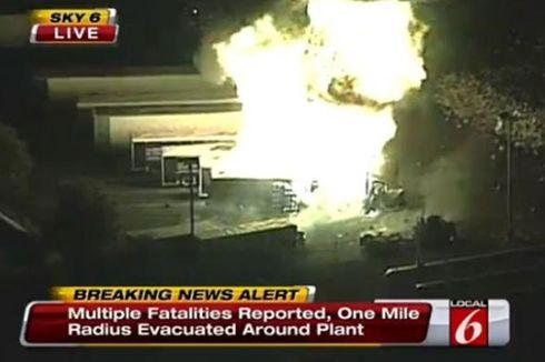 Serangkaian Ledakan Terjadi di Perusahaan LPG Florida