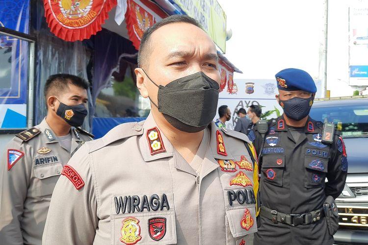 Kapolres Blora, AKBP Wiraga Dimas Tama saat ditemui kompas.com di Cepu, Blora