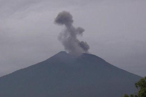 Lebih Tenang, Hari Ini Gunung Slamet Keluarkan 18 Embusan