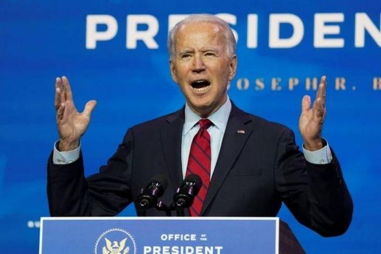 Presiden terpilih Amerika Serikat (AS), Joe Biden, memperkenalkan tim kesehatan barunya di Delaware, AS, pada Selasa (8/12/2020).